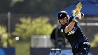 Brendon McCullum joins 200 ODI sixes club during New Zealand vs Australia, 3rd ODI at Hamilton