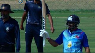 शार्दुल, सूर्यकुमार यादव की अर्धशतकीय पारियों से मुंबई ने हिमाचल प्रदेश को 200 रनों से हराया