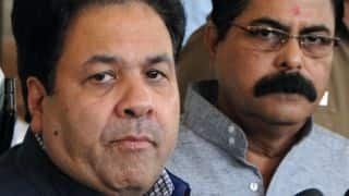 Rajeev Shukla questions Pakistan's call to baoycott India matches at ICC events