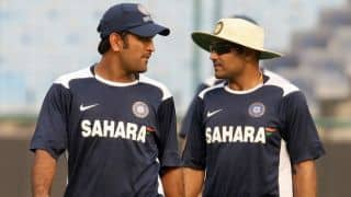 Virender Sehwag forgets to mention MS Dhoni in thank you speech