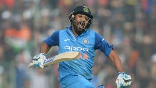 Not as powerful as Chris Gayle, AB De Villiers, MS Dhoni, says Rohit Sharma