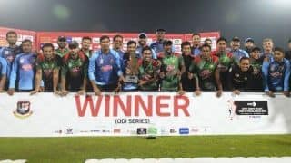 Bangladesh coach Steve Rhodes hails 'magnificent 11' as hosts chase T20I series