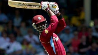 Dwayne Bravo lifts West Indies to 269/6 against England in 1st ODI