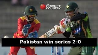 Pakistan-Zimbabwe 3rd ODI at Lahore washed out due to rain