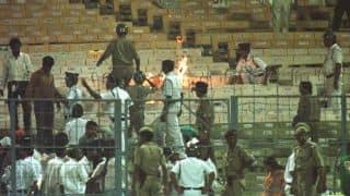 India vs Sri Lanka match, 3rd ODI: Crowd trouble at Premdasa stadium interrupts match