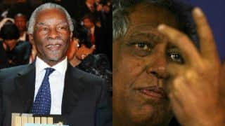 """West Indies lose to Sussex following """"spirited performance"""" with Thabo Mbeki, Essop Pahad"""