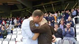 When couple kissed on live TV during England vs West Indies 3rd Test