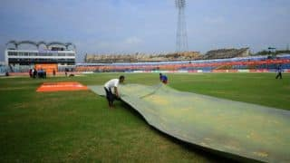 India vs Papua New Guinea, ICC Under-19 World Cup 2014:  PNG going very slow