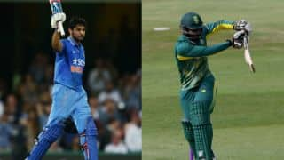 Live Cricket Score, India A vs South Africa A, Tri-Nation series, 5th ODI: IND A win by a wicket