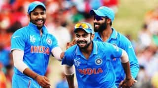 India vs Pakistan 2016: Khurram Manzoor run out for 10 by Virat Kohli in Match 4 of Asia Cup T20 2016