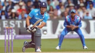 England reach 84/2 after 18 overs in 5th ODI versus India at Headingley