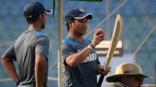 Sachin Tendulkar takes on mentor's role