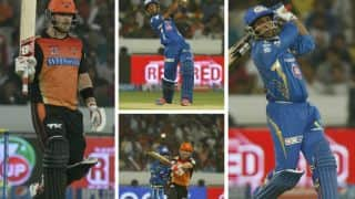 Sunrisers Hyderabad vs Mumbai Indians stats highlights: IPL 2014 Match No. 36
