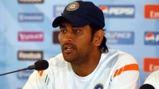 ICC world cup T20: MS Dhoni blames India's batting collapse for losing against New Zealand at Nagpur