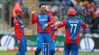 Cricket World Cup 2019: Mohammad Nabi's four-fer helps Afghanistan skittle Sri Lanka for 201 in rain-truncated match