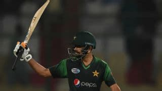 Babar Azam guides Pakistan to their highest T20I total against West Indies
