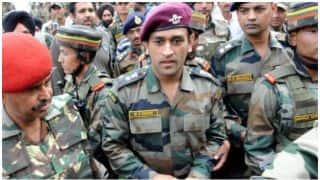 Pro-Shahid Afridi slogans heard during MS Dhoni's Kashmir visit: Video