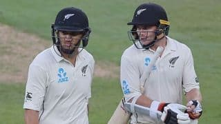 Ross Taylor, Tom Latham take New Zealand to 131/2 (f/o) at day three vs Pakistan