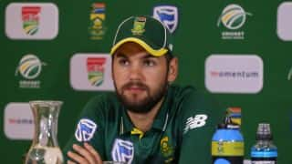 Rilee Rossouw's Test debut uncertain