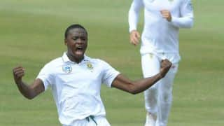 Kagiso Radaba's 3-for puts South Africa back in reckoning against Australia at tea on Day 1, 2nd Test