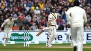 The Ashes 2019: ICC mock david warner as he out on duckThe