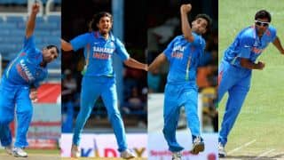 India's bowling struggles — Only Mohammed Shami averages under 40 in the last 13 ODIs