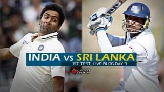 IND 23/1   Live Cricket Score, India vs Sri Lanka 2015, 1st Test at Galle, Day 3: India in control despite Chandimal show
