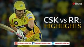 Chennai Super Kings vs Rajasthan Royals IPL 2015, Match 47: Highlights