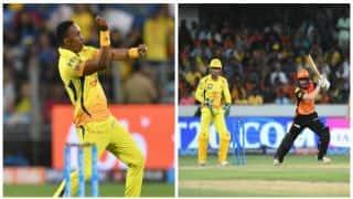 IPL 2018: Kane Williamson, Rashid Khan's efforts derailed by Dwayne Bravo as CSK beat SRH by 4 runs