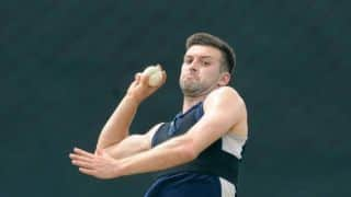 Mark Wood lengthens bowling run-up to reduce stress on body