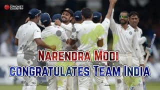 India beat England at Lord's: Narendra Modi congratulations MS Dhoni's men