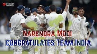 India beat England at Lord's: Narendra Modi congratulations MS Dhoni's men