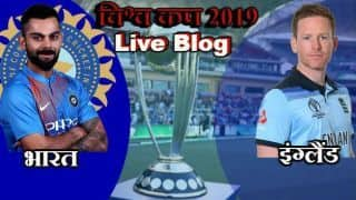 India vs England, Match 38 live score in Hindi, live score updates live blog and ball by ball commentary