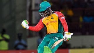 CPL 2018: Gayle's effort in vain as Guyana Amazon Warriors secure easy win