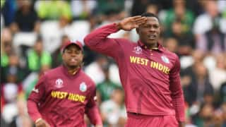 England' coach Trevor Bayliss don't like Sheldon Cotrell's salute