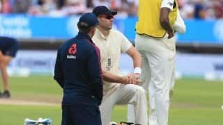 James Anderson: Sidelined England fast bowler not