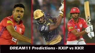 Dream11 Prediction: KXIP vs KKR Team Best Players to Pick for Today's IPL T20 Match between Kings XI and Knight Riders at 8PM