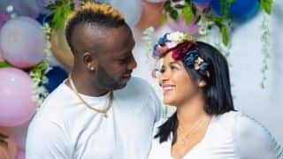 Andre Russell announces arrival of first baby in the most interesting way