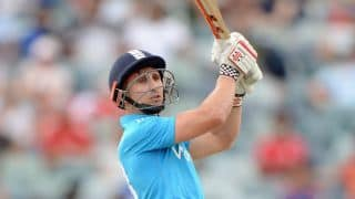 Australia vs England, tri-series final: James Taylor dismissed by Mitchell Johnson