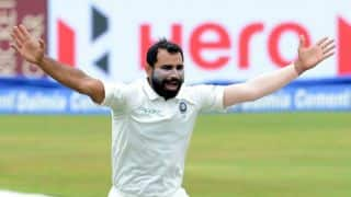 "Mohammed Shami blames ""third party"" and not wife Hasin Jahan for domestic turmoil"