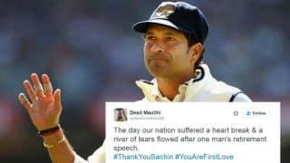 Fans hail Sachin Tendulkar on his 3rd retirement anniversary