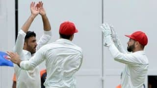 India 347 for 6 in Afghanistan Test at stumps, Day One