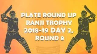 Ranji Trophy 2018-19, Round 8, Plate, Day 2: Puducherry crush Manipur by 10 wickets