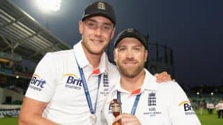 Stuart Broad, Matt Prior to undergo surgery