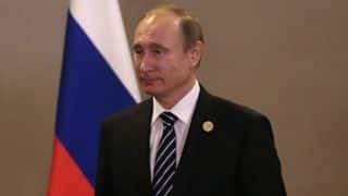 Vladimir Putin denies existence of state-run doping programme in Russia