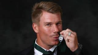 David Warner wins Allan Border Medal