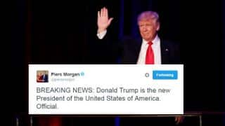 Cricket fraternity reacts to Donald Trump's victory in US presidential election