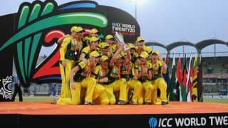 Australia's ICC Women's World T20 2014 victory celebrations