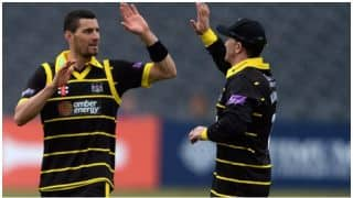 NatWest T20 Blast: Benny Howell's last-ball wicket seals a tie for Gloucestershire vs Middlesex