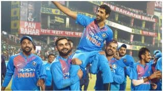 India vs New Zealand, 1st T20I: Team India, other legends salutes Ashish Nehra on his retirement